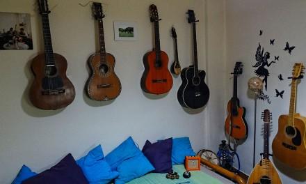Hoeveel gitaren heb je nodig