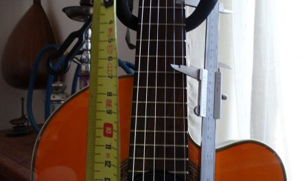 How to calculate the position of the extended frets
